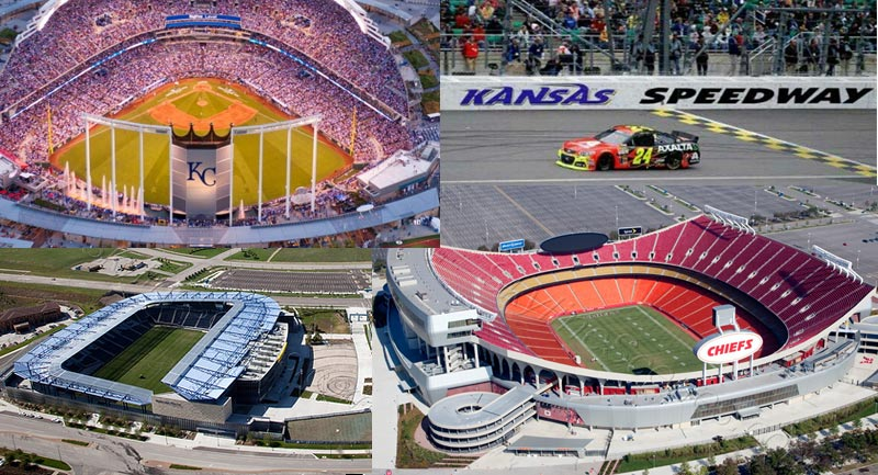Ground Transportation and Limo Services for Sporting Events in the Kansas City metro