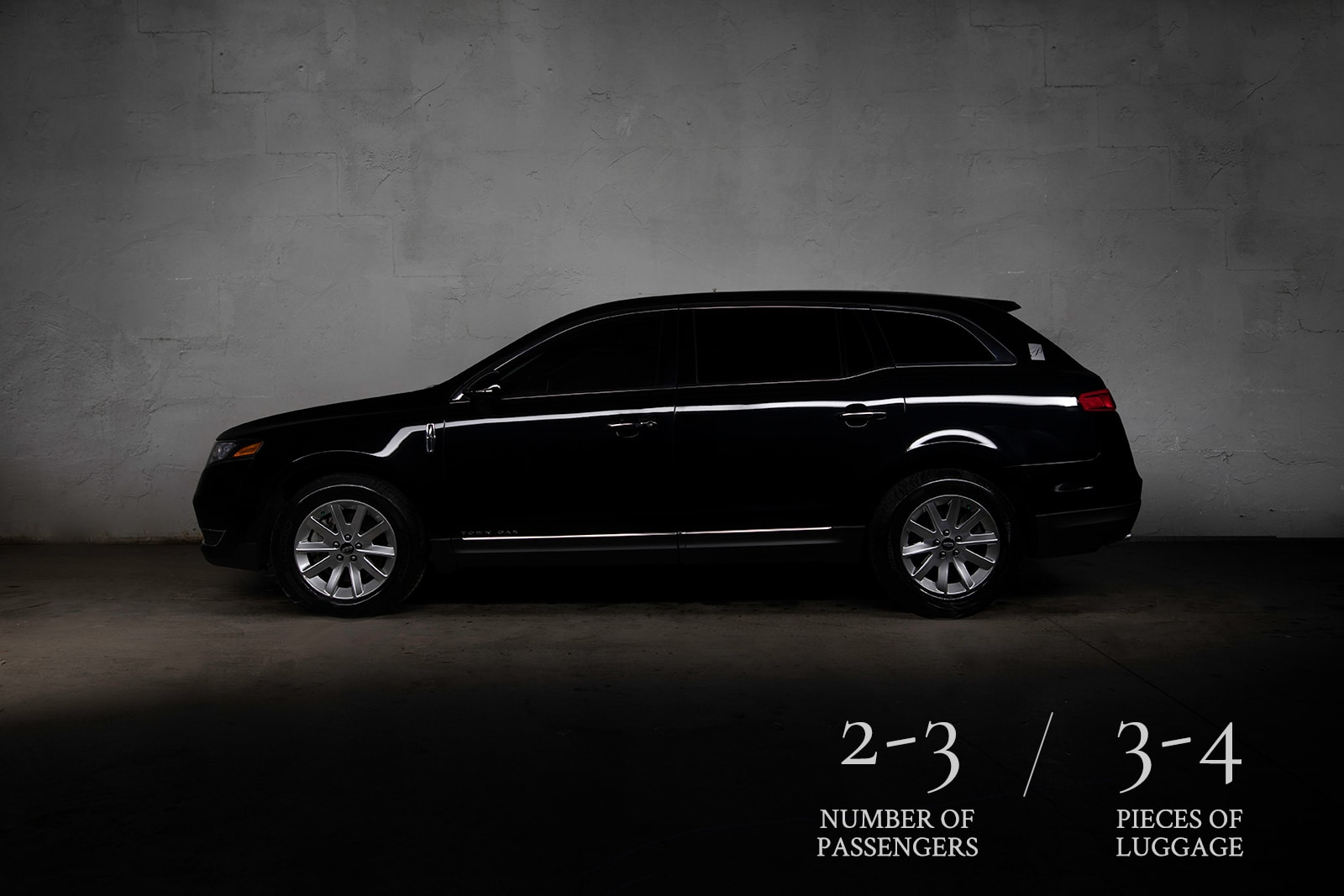 Lincoln MKT used for Airport Transportation.